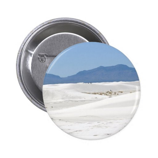 Dunes with Mountain view 2 Inch Round Button