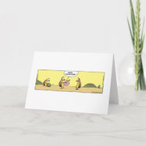 Dung Beetle Happy Anniversary Card