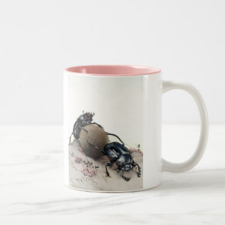 Dung Bettle Two-Tone Coffee Mug
