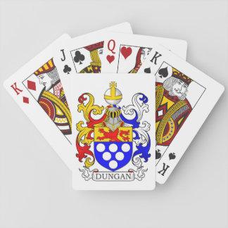 Dungan Coat of Arms Playing Cards