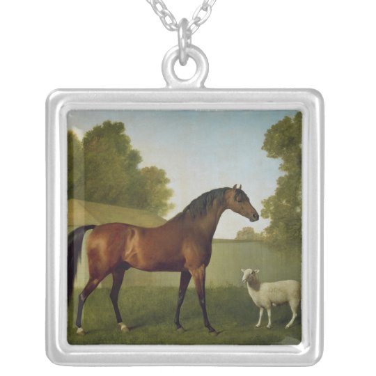Dungannon, the property of Colonel O'Kelly Silver Plated Necklace