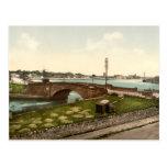 Dungarvan Harbour, County Waterford Postcard