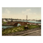 Dungarvan Harbour, County Waterford Poster