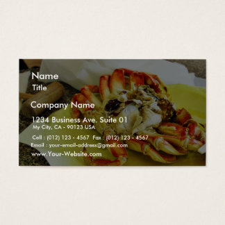 Dungeness Crabs Business Card