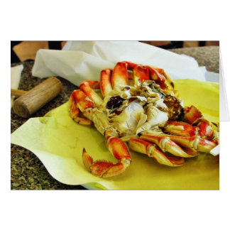Dungeness Crabs Card