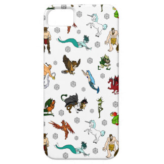 Dungeon and Dragons D20 Fun iPhone SE/5/5s Case