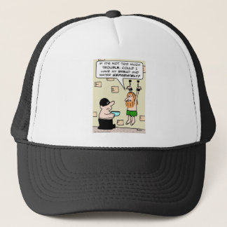 dungeon bread and water separately trucker hat