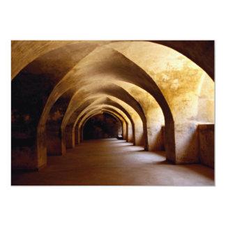 Dungeon de coronel Bailey, Sriringapatana, la Invitación 12,7 X 17,8 Cm