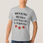 Dungeon & Dragons - Ominous Dice Rolling T-Shirt