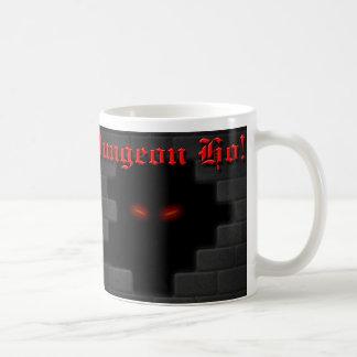 Dungeon Ho! brick logo Coffee Mug