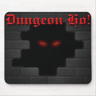 Dungeon Ho! brick logo Mouse Pad