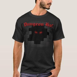 Dungeon Ho! brick wall logo T-shirt