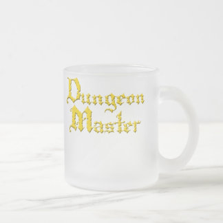 Dungeon_Master3 Frosted Glass Coffee Mug