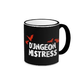Dungeon Mistress Ringer Coffee Mug