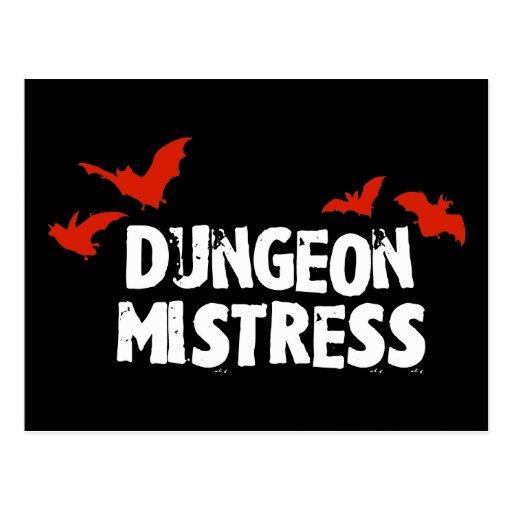 Dungeon Mistress Post Card
