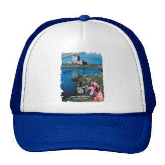 Dunguaire Castle View Galway Bay Ireland Trucker Hat