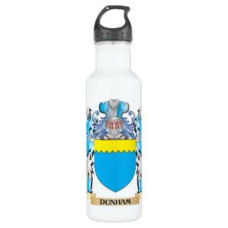 Dunham Coat of Arms - Family Crest 24oz Water Bottle