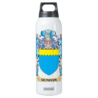 Dunham Coat of Arms - Family Crest 16 Oz Insulated SIGG Thermos Water Bottle