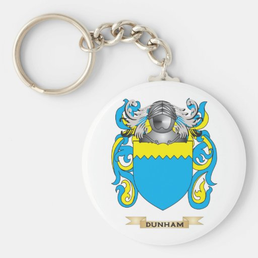 Dunham Coat of Arms Key Chain