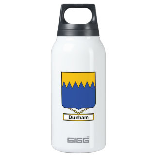 Dunham Family Crest 10 Oz Insulated SIGG Thermos Water Bottle