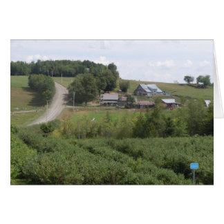 Dunham, Quebec - tarjeta de nota