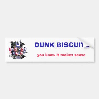 Dunk Biscuits Bumper Sticker