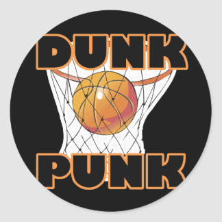Dunk Punk Classic Round Sticker