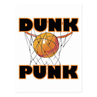 Dunk Punk Postcard