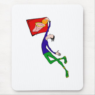 Dunk the ball mouse pad
