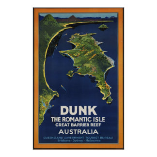 Dunk The Romantic Isle - Great Barrier Coral Reef Print