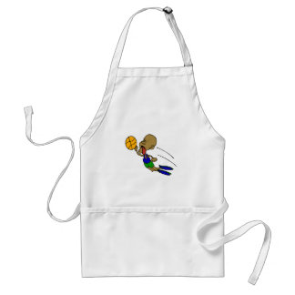 Dunk with a Tognue out Adult Apron
