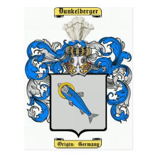 Dunkelberger Tarjeta Postal