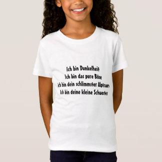 Dunkelhe, pure Böse, Alptraum, kleine Schwester T-Shirt