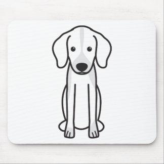 Dunker Dog Cartoon Mousepad