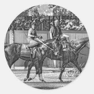 Dunkin Bend Classic Round Sticker