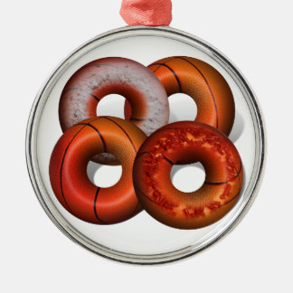 Dunking Donuts for Basketball Fan Ornament