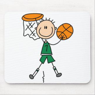 Dunking el baloncesto Mousepad