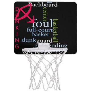 Dunking Foul Mini BasketBall Hoop Custom Toy Goal
