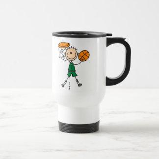 Dunking la taza del baloncesto
