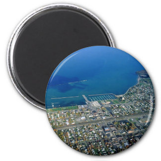 Dunkirk Aerial Photograph Magnet