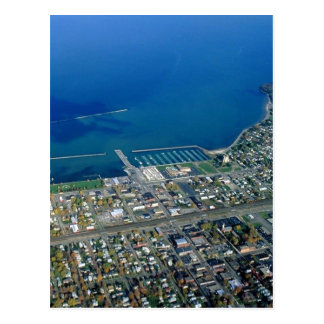 Dunkirk Aerial Photograph Postcard