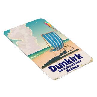 Dunkirk Beach travel poster Magnet