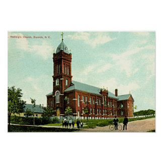Dunkirk New York St Hedwigs 1909 Posters