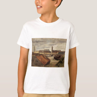 Dunkirk, the Fishing Docks by Camille Corot T-Shirt