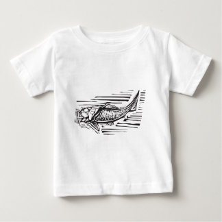 Dunkleosteus Fossil Fish Baby T-Shirt