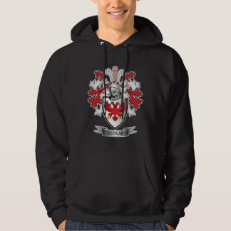 Dunlap Family Crest Coat of Arms Hoodie