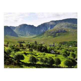 Dunlewy Mountains Ireland Postcard