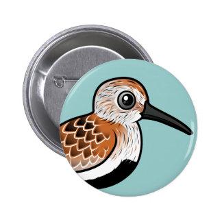 Dunlin de Birdorable Pin