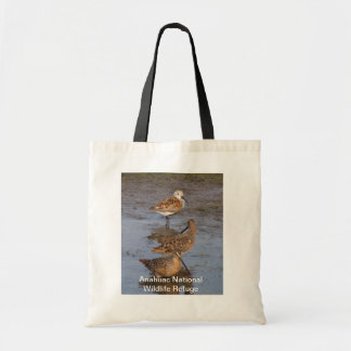 Dunlin With Dowichers Tote Bag