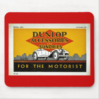 Dunlop Accessories and Sundries for the Motorist Mouse Pad